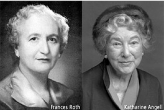 Frances Roth and Katharine Angell, founders of The Culinary Institute of America.