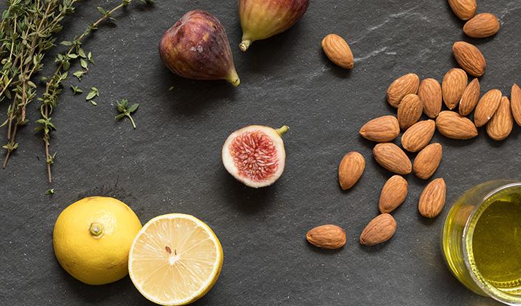 Almond-Fig Vinaigrette