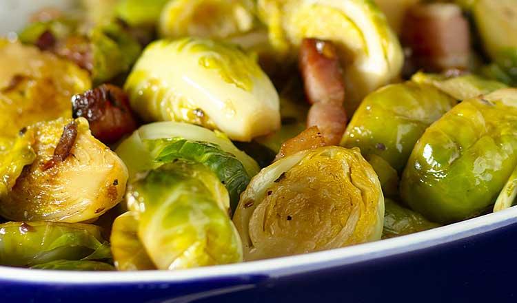 Brussels sprouts bacon chou de bruxelles aux ardons