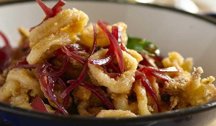 Calamari fritti in carpione