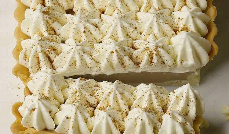 Chai vanilla tart