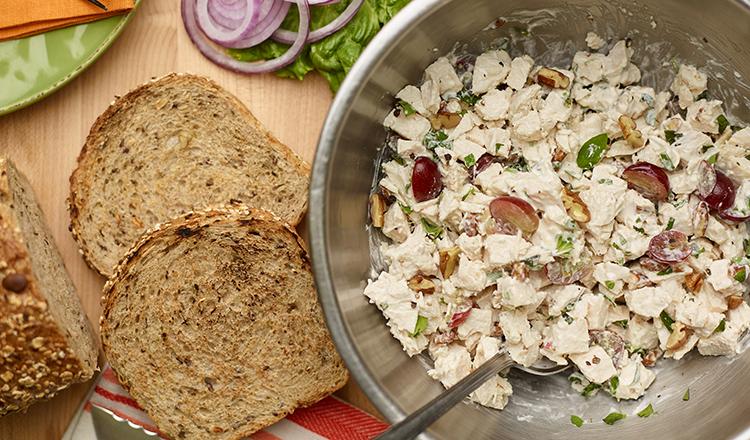Crème Fraîche Chicken Salad