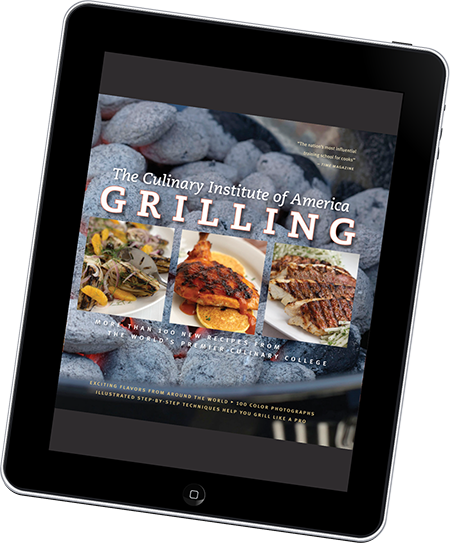 Culinary Institute of America eBook on Tablet