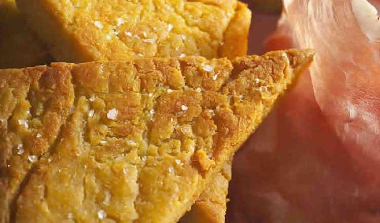 panitta fritta o panelle chickpea fritters