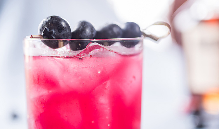 Bourbon and Blueberries