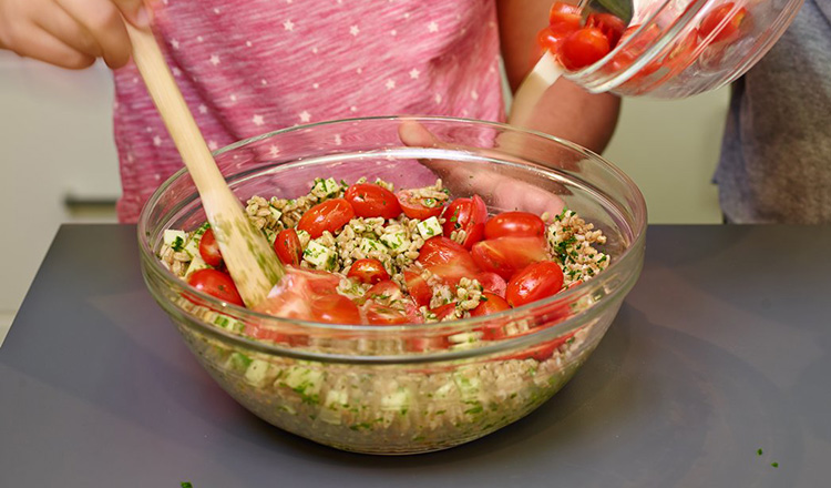 Caprese Grain Salad