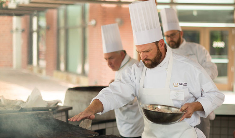 cooking in a San Antonio Boot Camp Classes