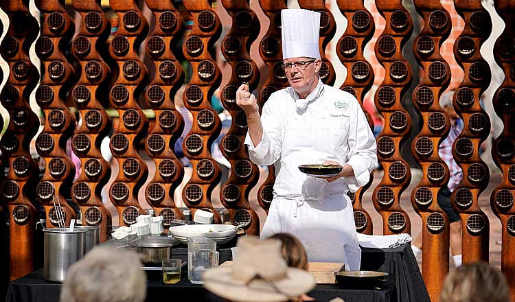 chef demo in San Antonio