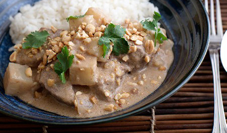 Beef in Massaman Curry Sauce