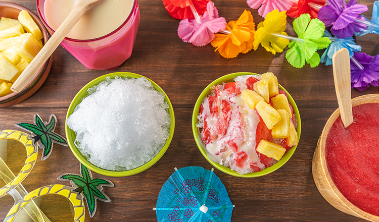 Hawaiian-Style Shaved Ice