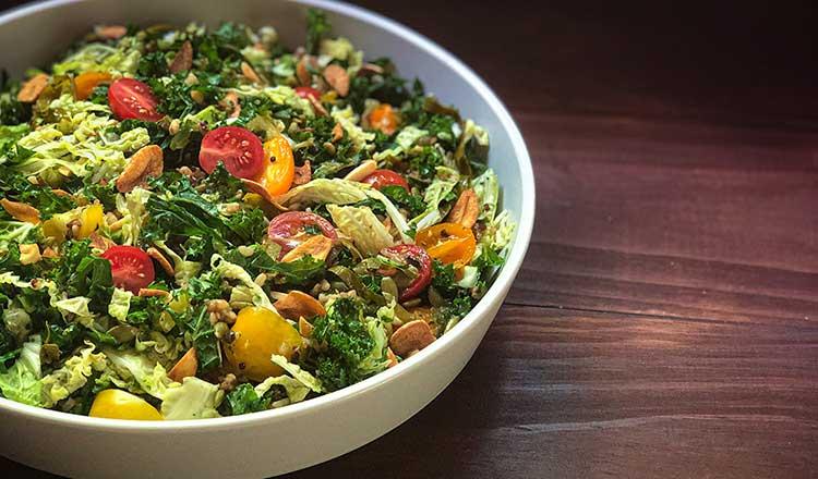 Grape Leaf Salad