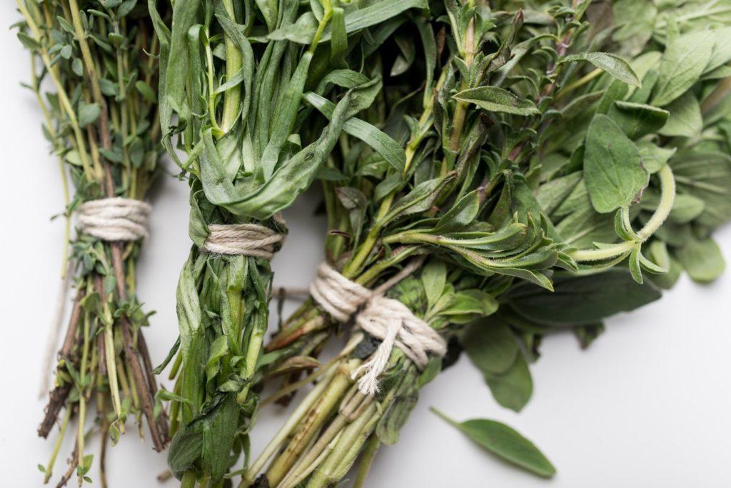 Bundled herbs