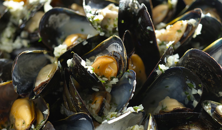 Moules Mariniere-Mussles Mariner-Style