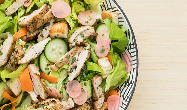Banh Mi style chicken salad