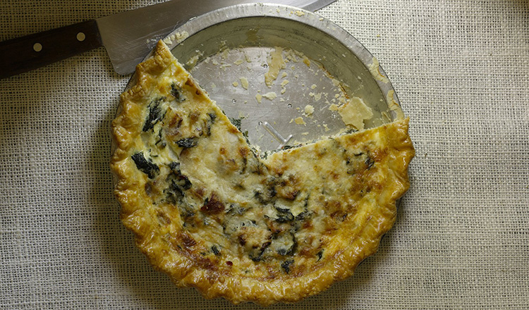 Kale, Bacon, and Onion Quiche. From Chapter 8, Savory, of Pies and Tarts.