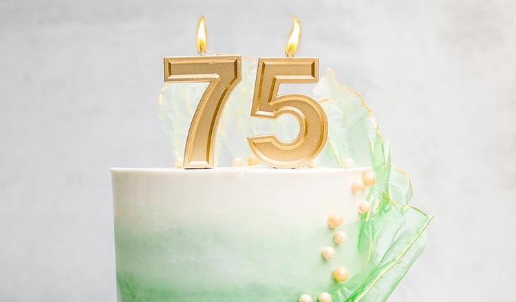 CIA 75th Anniversary Cake